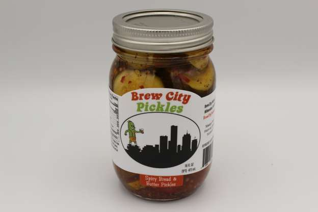 Spicy Bread & Butter Pickle