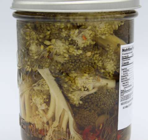 Pickled Spicy Broccoli