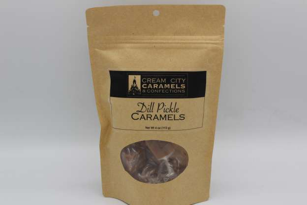 Dill Pickle Caramels