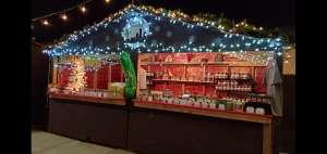 German Christmas Hut