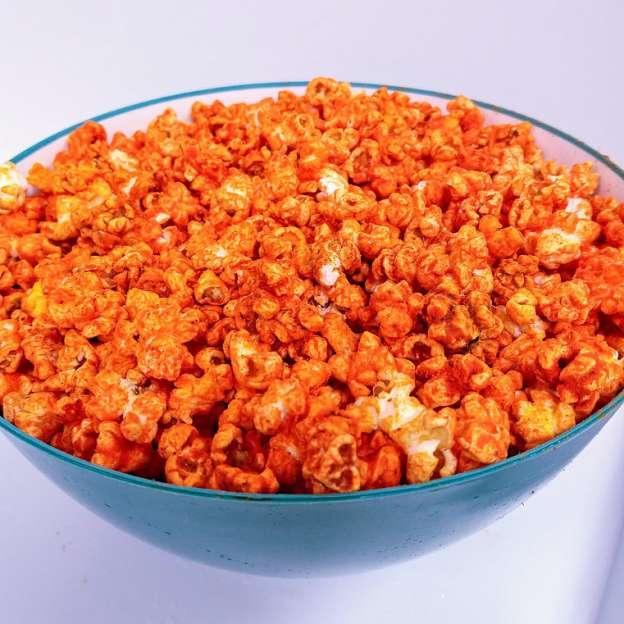 Spicy Cheddar Popcorn
